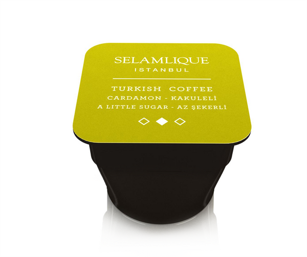 Selamlique Cardamon Turkish Coffee Capsules Coffee Turkish Coffee Bazaar