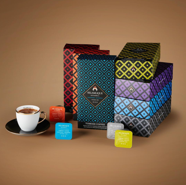 Selamlique Turkish Coffee | 21 Capsule Set Coffee Turkish Coffee Bazaar