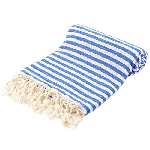 Striped Turkish Beach Towel Towels Turkish Coffee Bazaar