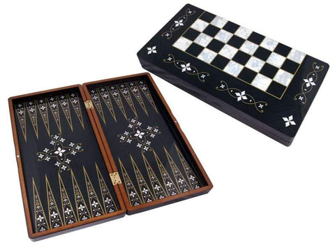 Traditional Backgammon Board | Esin Backgammon Turkish Coffee Bazaar