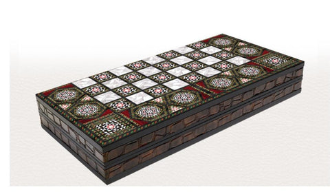 Traditional Backgammon Board | Etkin Backgammon Turkish Coffee Bazaar