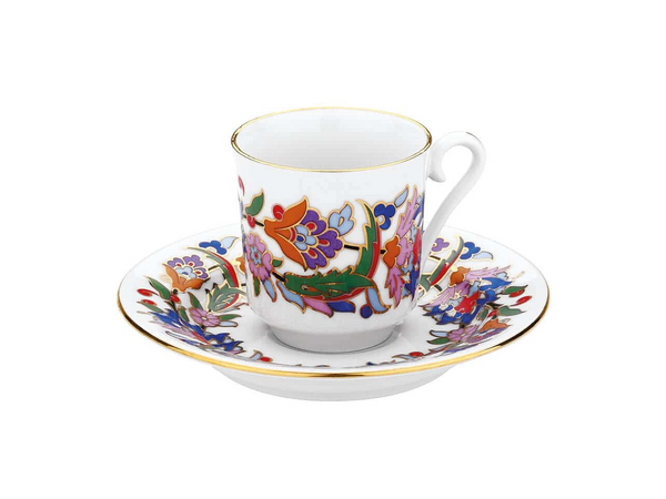 Traditional Turkish Coffee Cup Set | Patterned (6 Pieces) Coffee Cups Turkish Coffee Bazaar