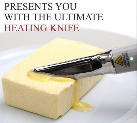 HEATING BUTTER KNIFE