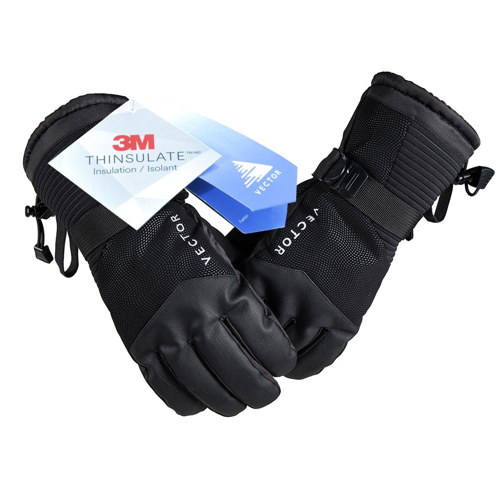 Outdoor Sports Running Riding Touch Screen Gloves Male Winter Waterproof Ski Warm Non Slip Gloves