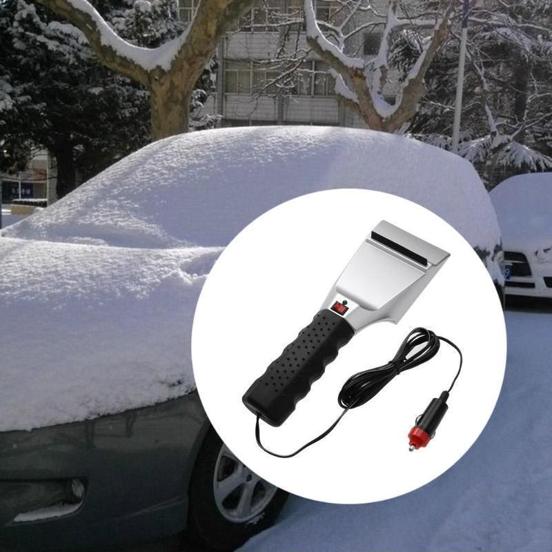 12V Electric Heated Snow Scraper