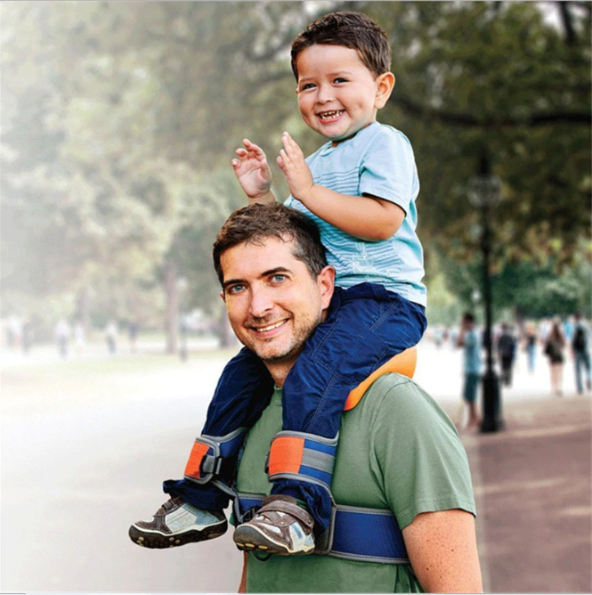 Hands-Free Shoulder Baby Carrier