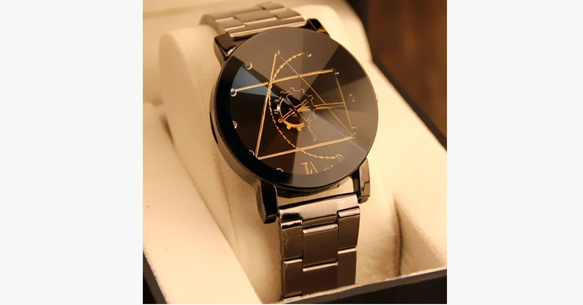 Men's Stainless Steel Stylish Fashion Watch