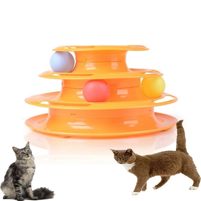 3 Layers Pet Interactive Toy