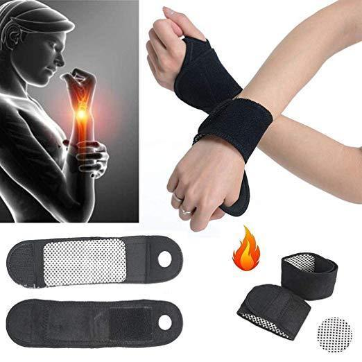 Magnetic Self-Heating Therapy Wrist Brace