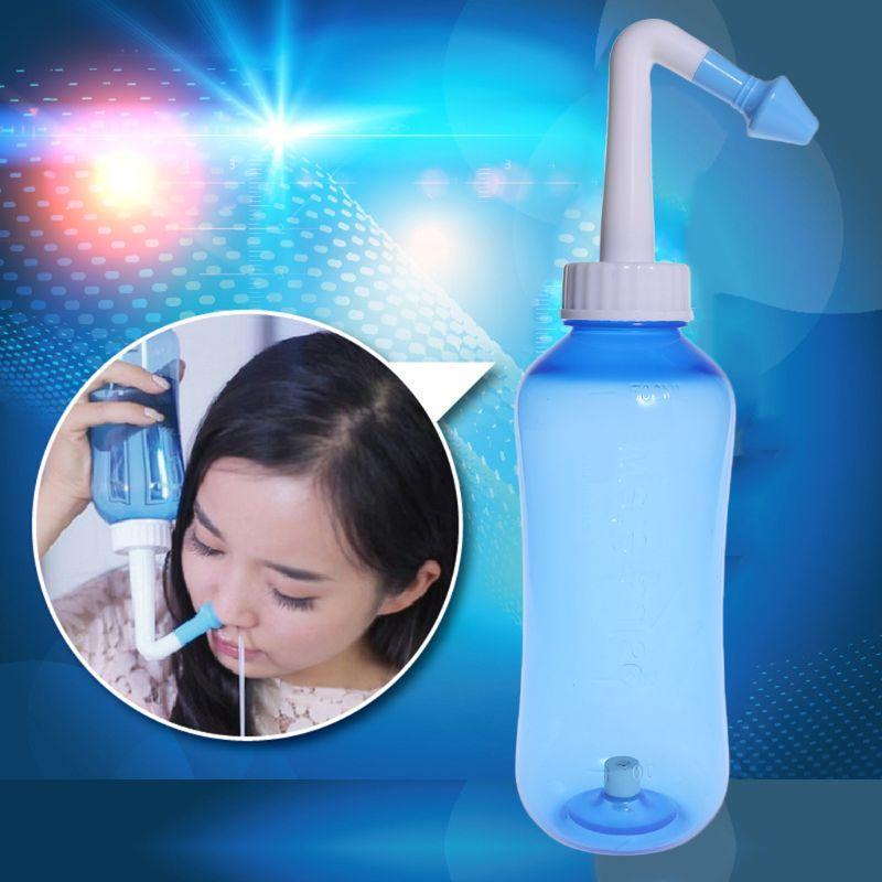 Nose Nasal Wash Bottle Cleaner