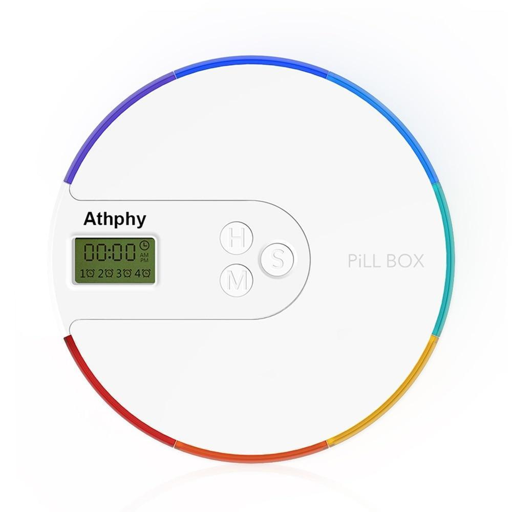 Electronic Timing  Rainbow Pill Reminder