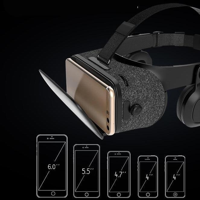 VR Virtual Reality Remote 3D Android Cardboard Headset Stereo for Smartphones