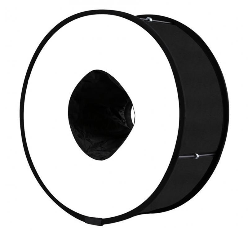 Flash Ring - Foldable & Portable Speedlite!