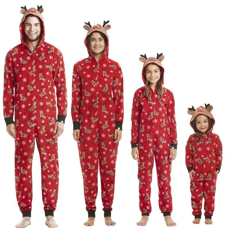Christmas Themed Pajamas For Happy Family