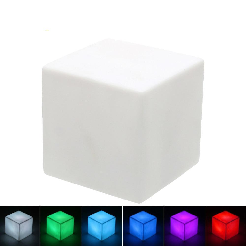 LED Night Light 7 Colors Cube
