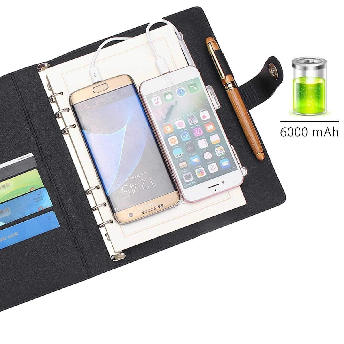 Multi-functional Charging Notebook
