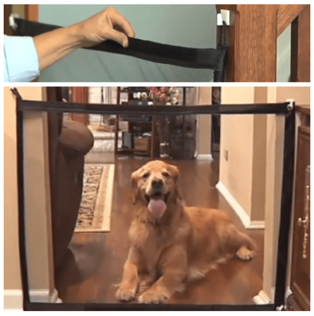 Original Magic Mesh Pet Gate