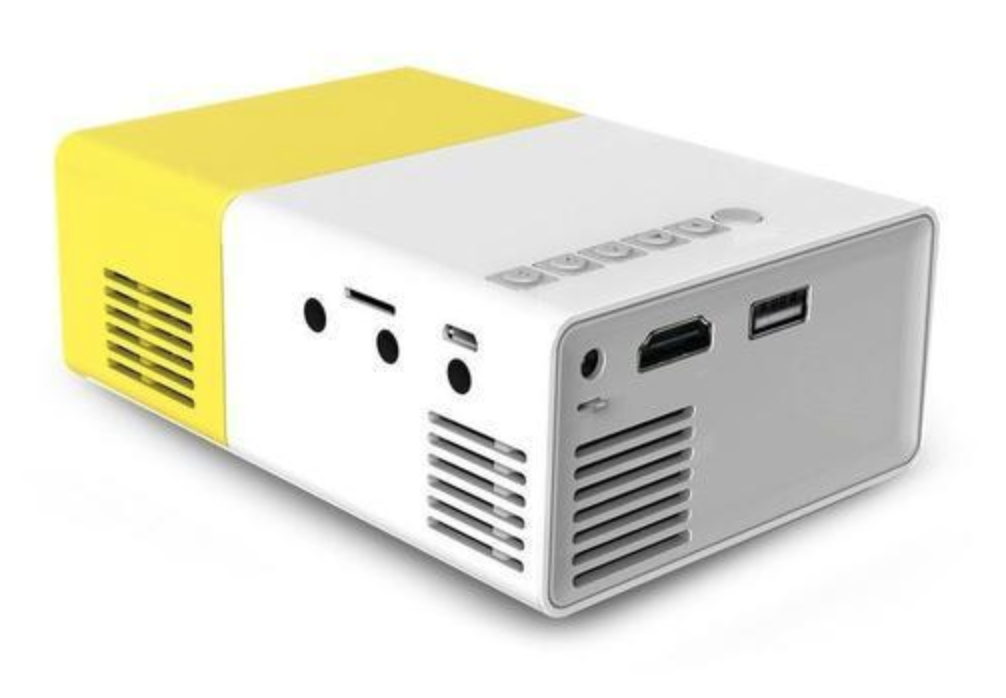 Tiniest HD Projector - HDMI Portable Mini Projector (Fits In The Palm Of Your Hand)