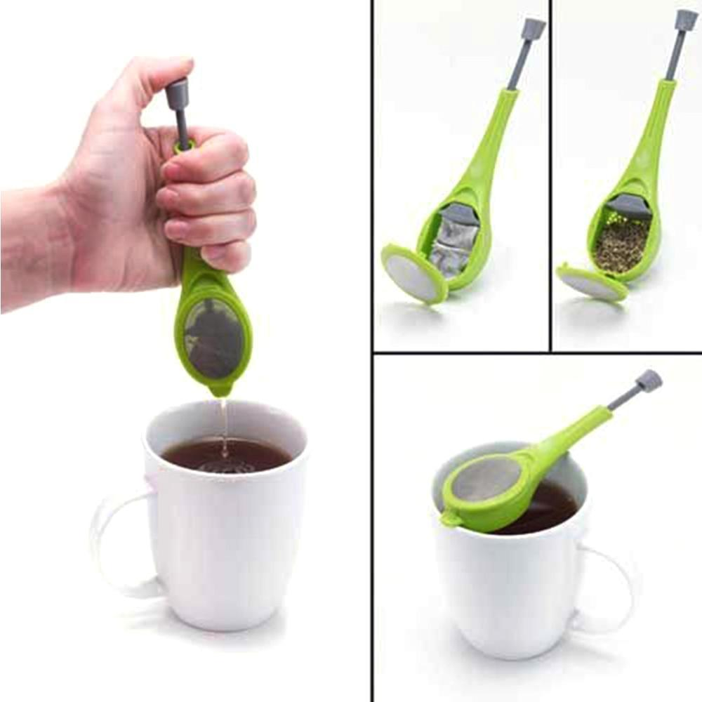 Tea Infuser w/ Built In Plunger