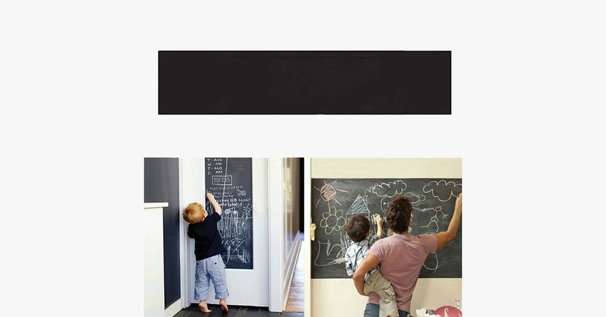 Creative Blackboard Stickers – Let Your Kids Show Their Imagination!