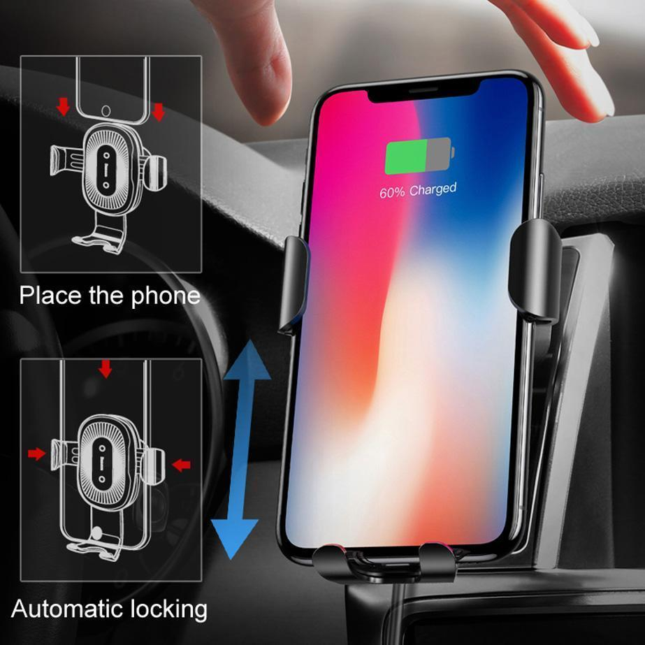 Automatic Wireless Car Charger