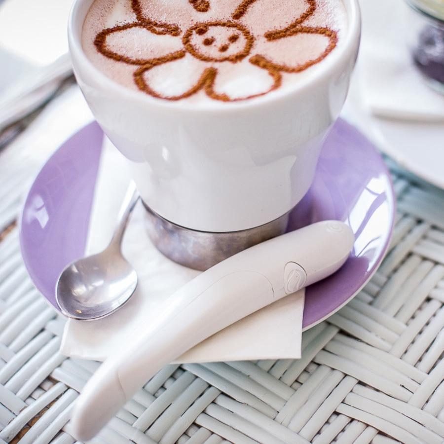 Electric Spice Pen For Latte & Food Art