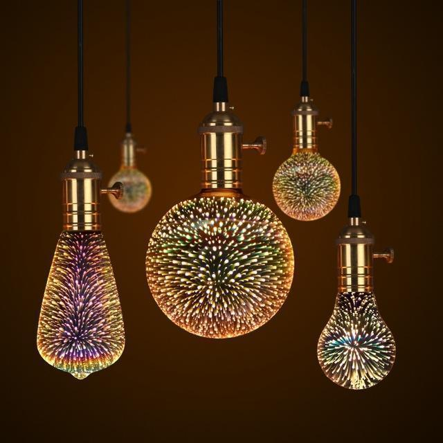 Galaxy Light Bulb