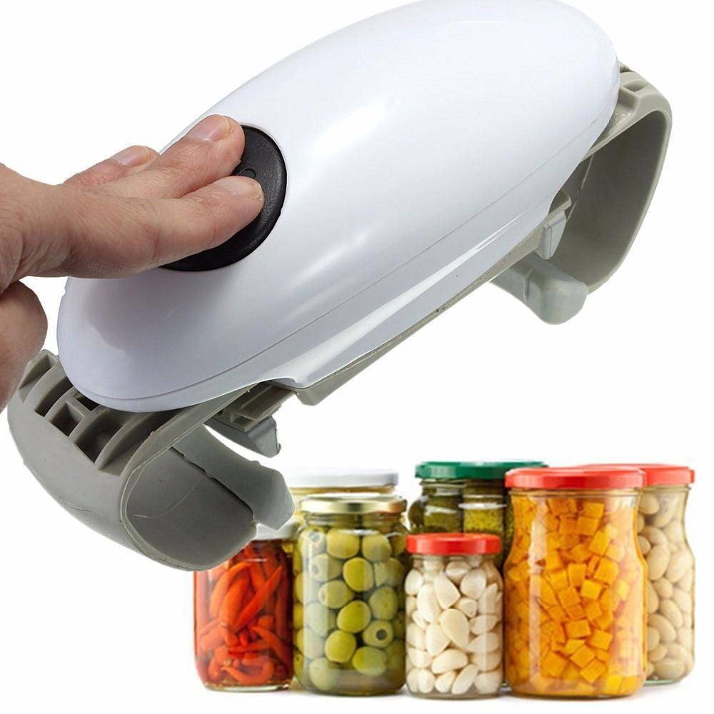 Automatic One Touch Can Jar and Bottle Opener