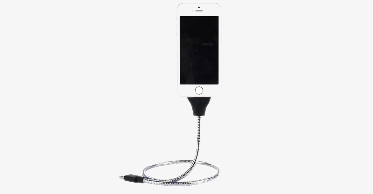 Flexible Smartphone Dock And Charging Cable – Charge Your Phone With Ease And Style!