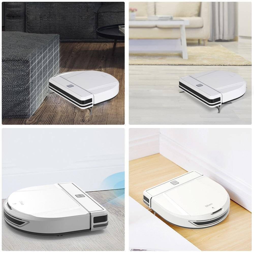 Smart Robot Vacuum Cleaner With Wet/Dry Mopping