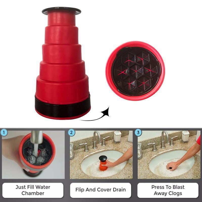 Sink Plunger Cleaner