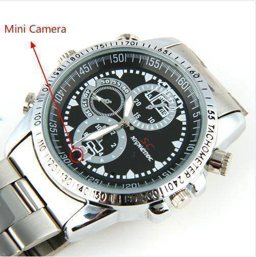 Digital Video Wrist Watch - with Built-in Camera