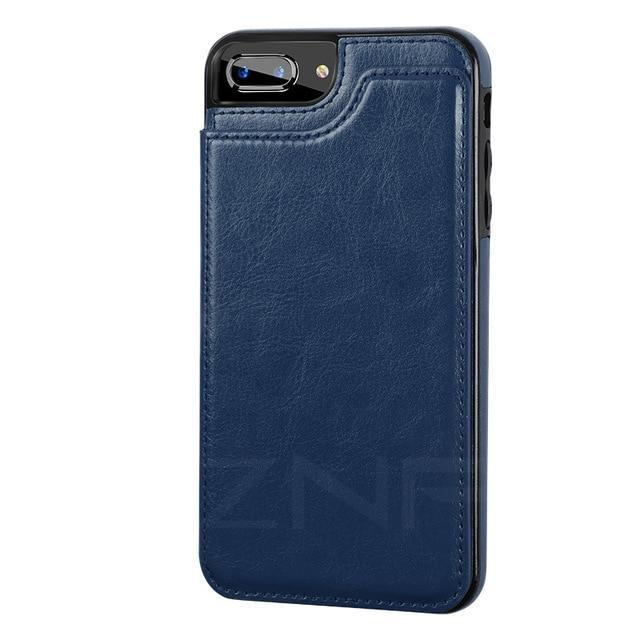 iPhone Leather Case With Card Holder