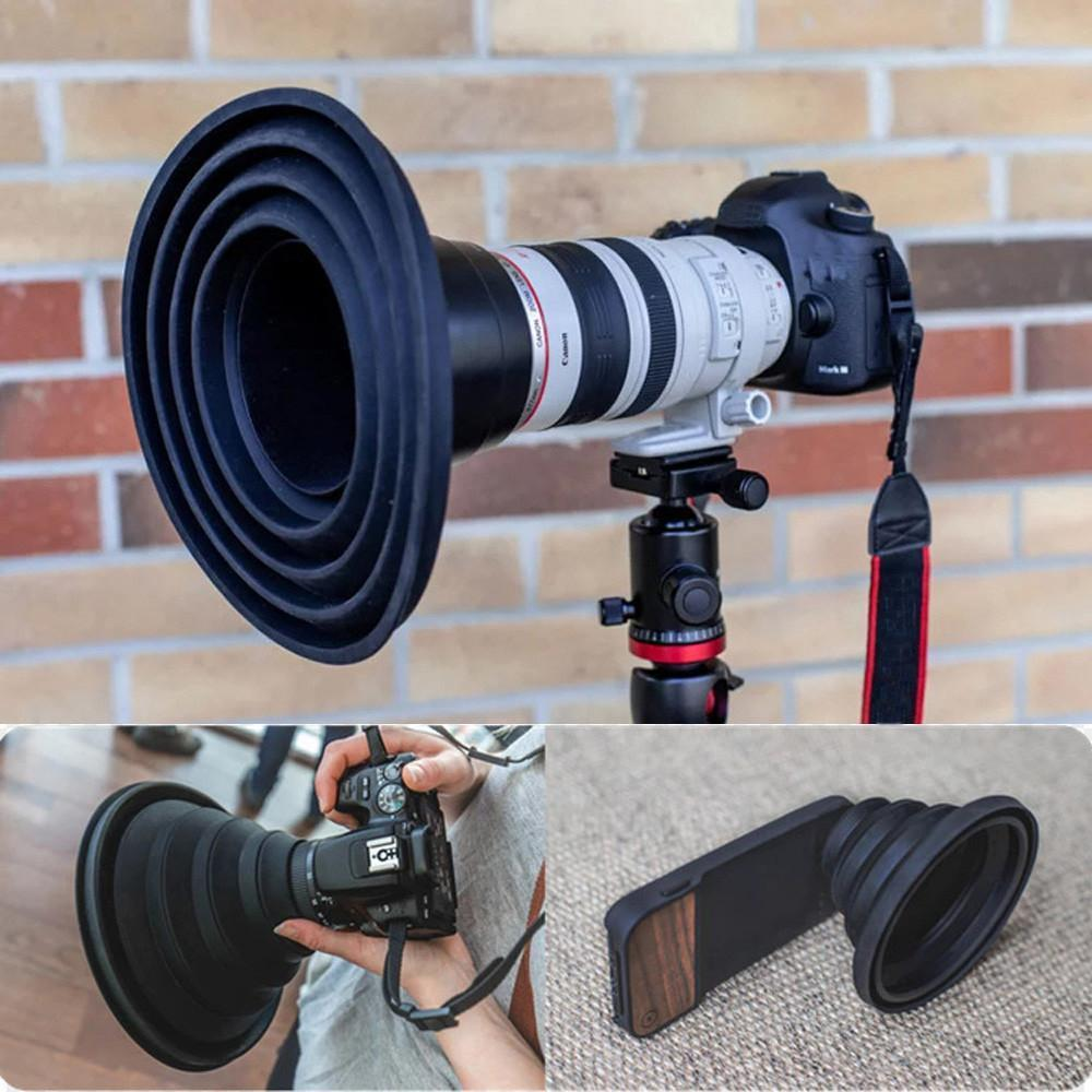 Ultimate Anti-Reflective & Protective Lens Hood!