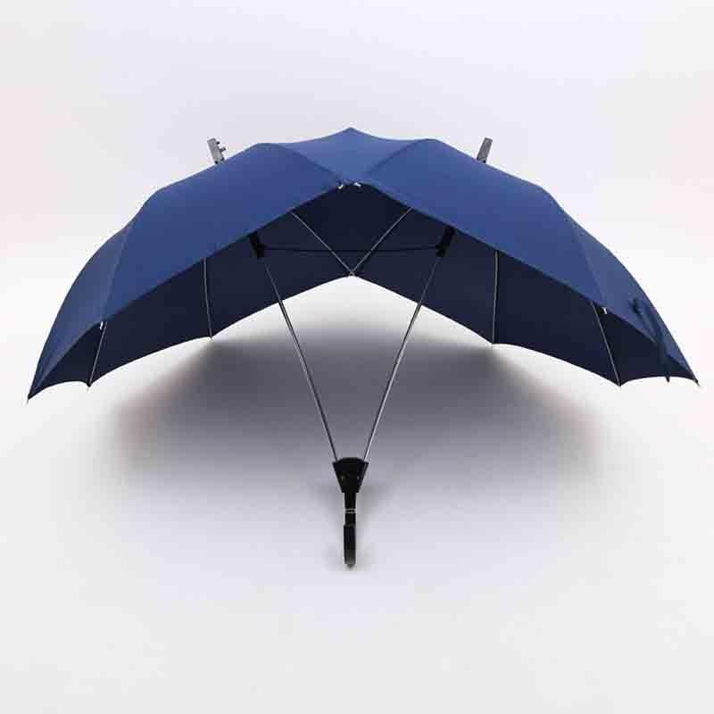 Creative fashion two-pole couple umbrella