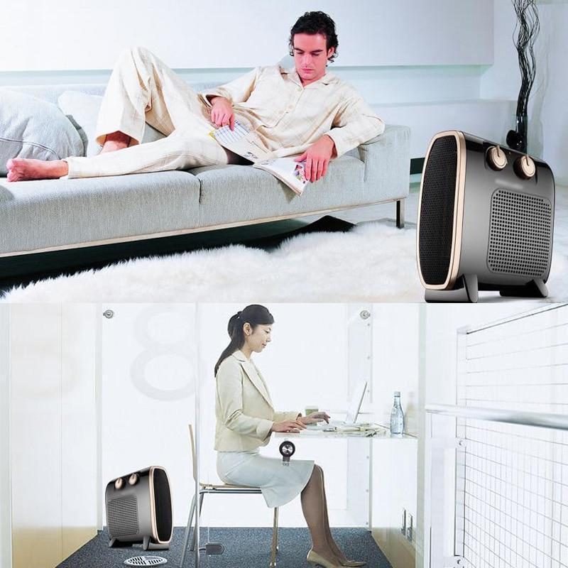 Portable Electric Heater Blower Room Fan