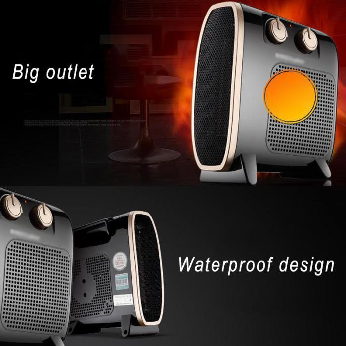 Portable Electric Heater Blower Room Fan - Hot Sale