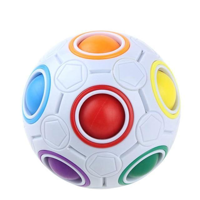 Creative Rainbow Puzzles Ball