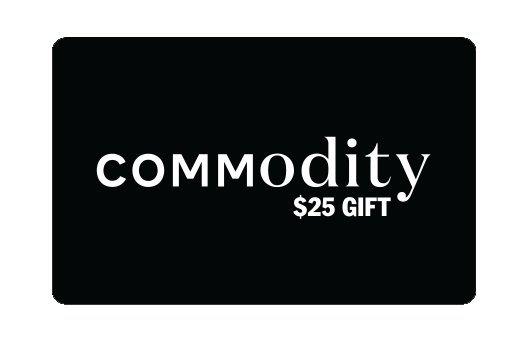 Commodity Gift Card