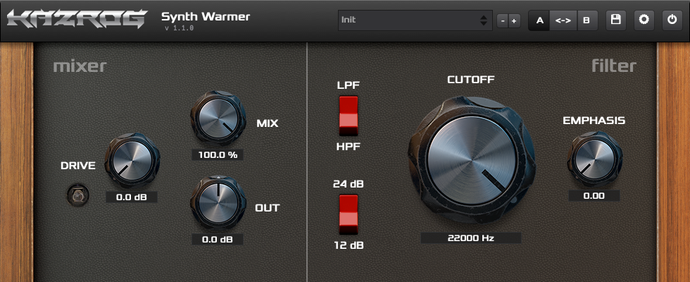 Synth Warmer