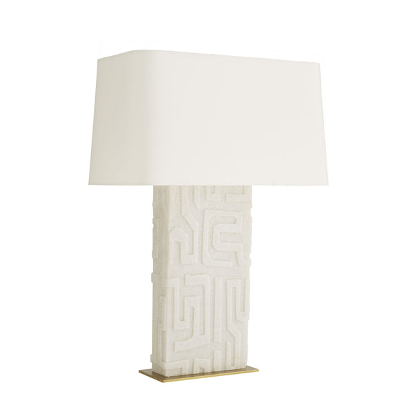 Textured Ricestone Lamp