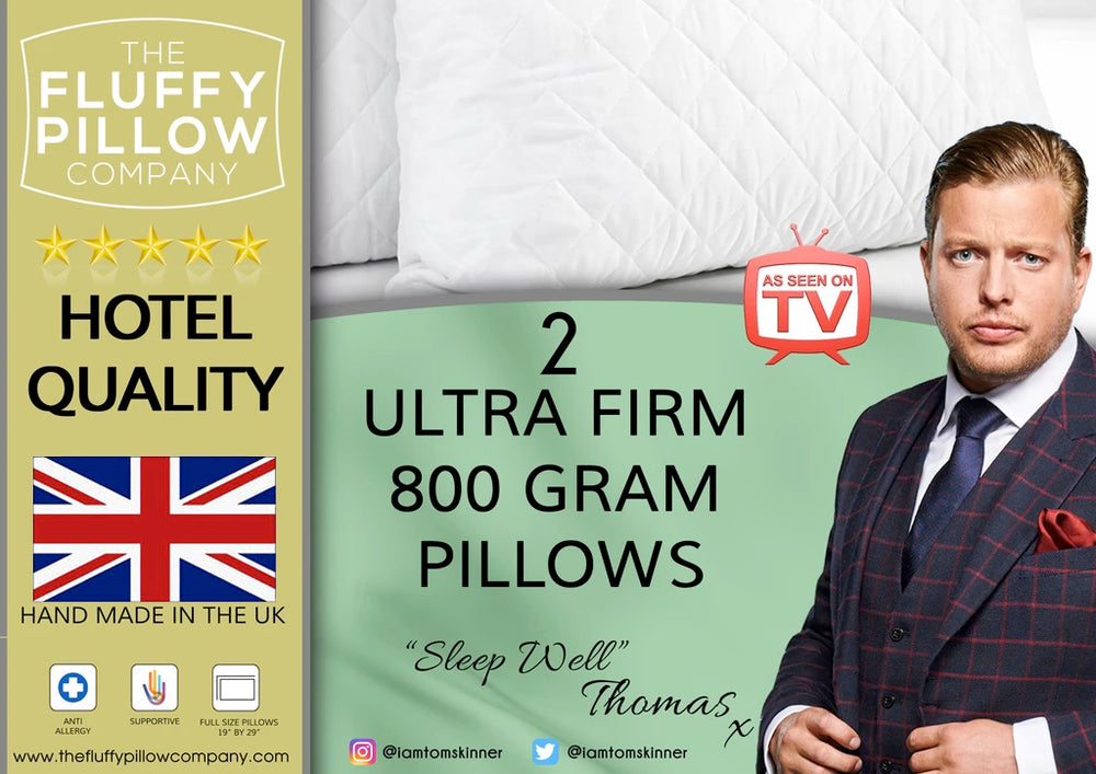 Load image into Gallery viewer, 2 Ultra Firm 800 Gram Pillows