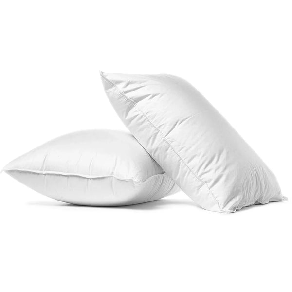 2 Super King Oversized Luxury Pillows
