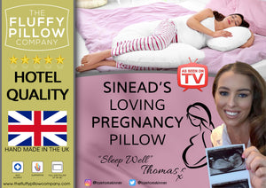 Sinead's Loving Pregnancy Pillow - U Shape Maternity