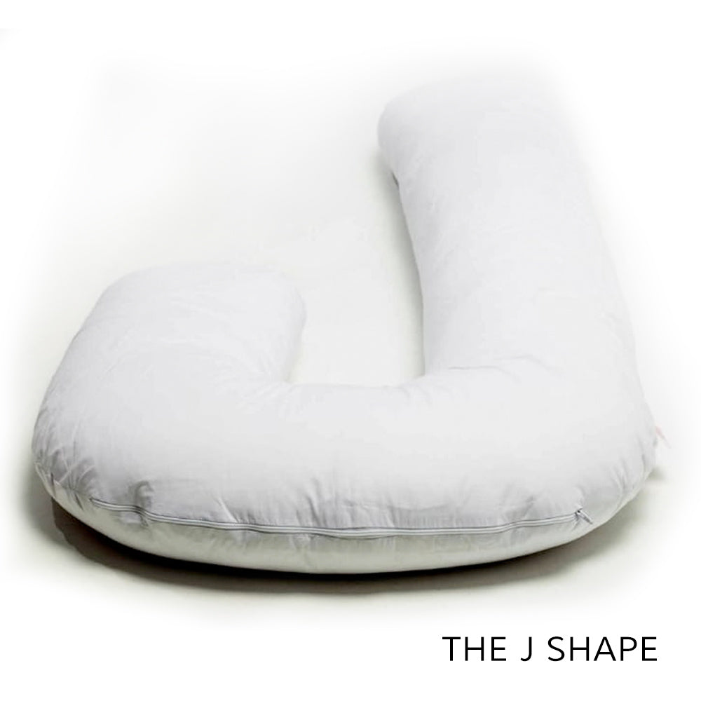 Sinead's Loving Pregnancy Pillow - J Shape Maternity