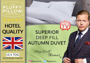 Superior Deep-Fill Autumn Duvet - 10.5 Tog