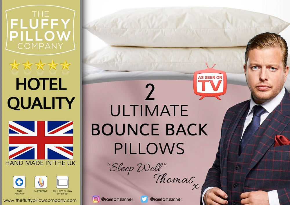 2 Ultimate Bounce Back Pillows