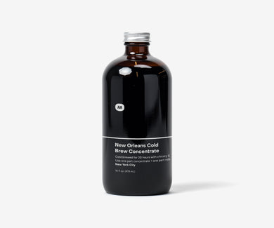 New Orleans Cold Brew Concentrate