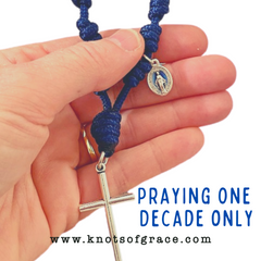 Knots of Grace One Decade Rosary