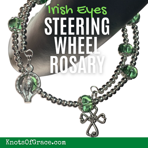 Steering Wheel Rosary Knots of Grace